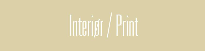 Print & Mønstre