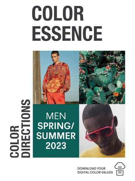 Color Essence Men SS 23 - Color Directions