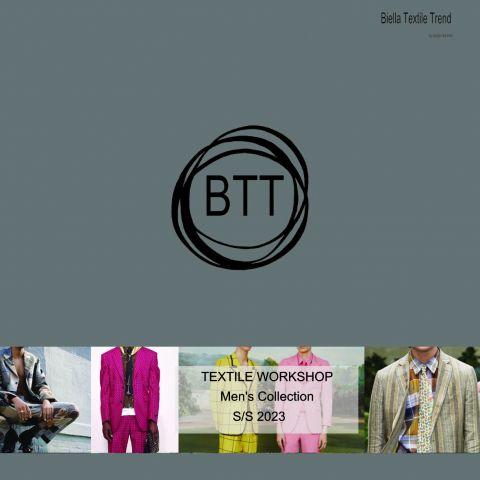 Biella Textile Workshop Mens Collection SS 23