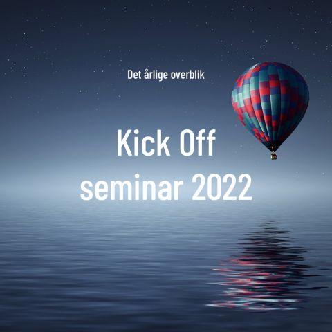 Kick Off seminar 2022
