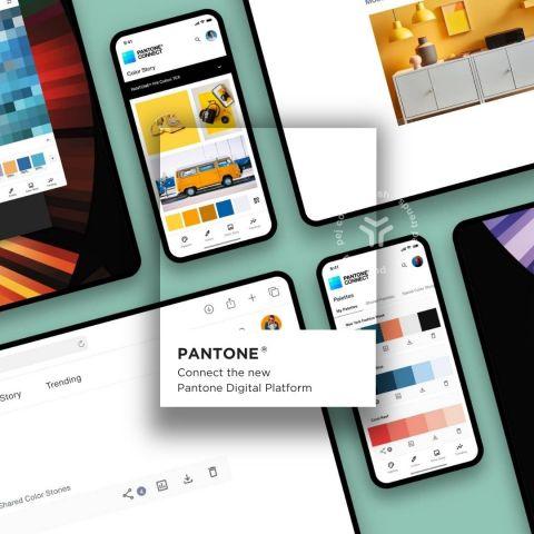 Pantone Connect - the new Pantone Digital Platform