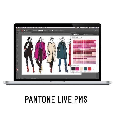 PantoneLive - Production PMS 12 måneder