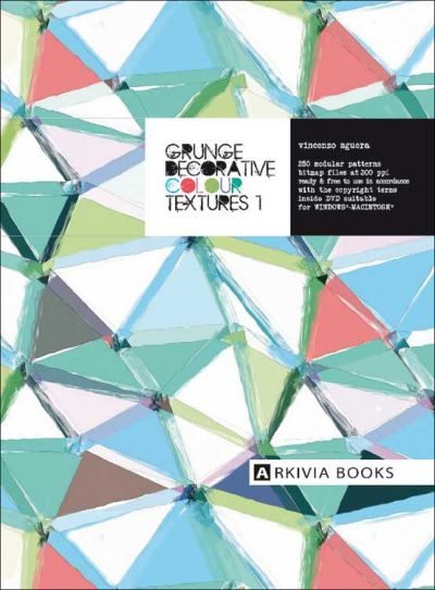 Arkivia Grunge Decorative Colour Textures Vol. 1 incl. DVD