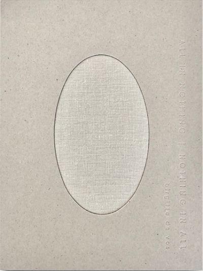 ALL IN NOTHING   NOTHING IN ALL 4. bog af Birgitta de Vos