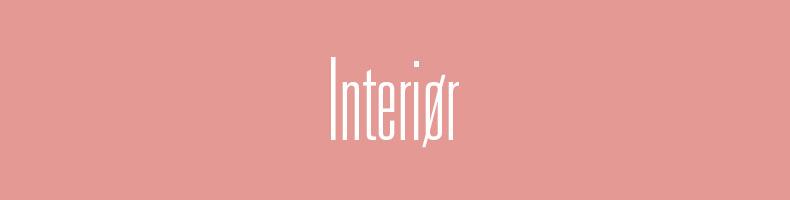 Interiør