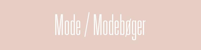 Modebøger / Lærebøger