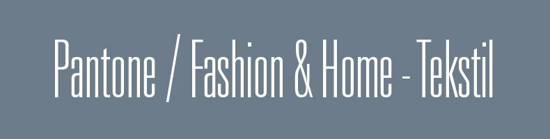 Pantone for Fashion & Home - Tekstil