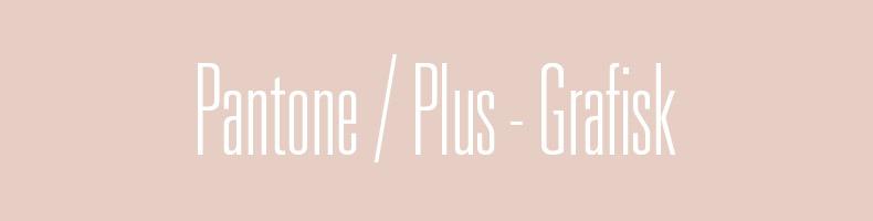 Pantone PLUS - Grafisk