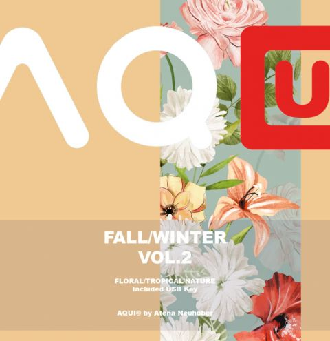 AQUI DESIGN – Fall Winter Pattern Book print Vol. 2