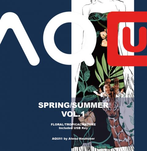 AQUI DESIGN – Spring Summer Pattern Book Vol.1