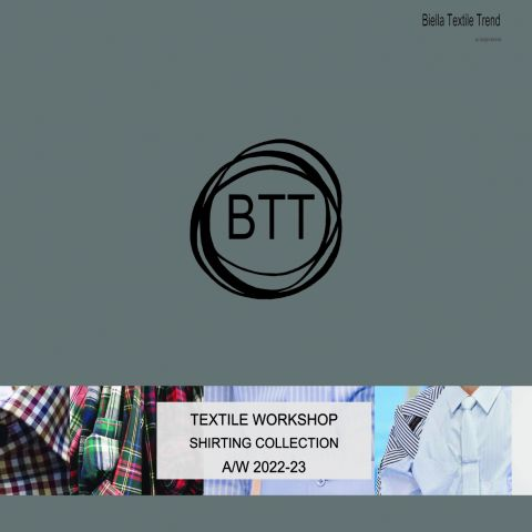 Biella Textile Workshop Shirting Collection AW 22/23