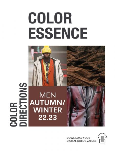 Color Essence Men AW 22/23 - Color Directions