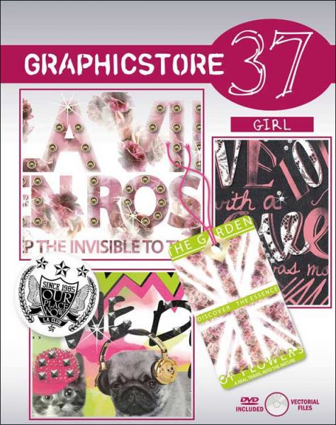 Graphicstore 37 Girl Printbog til pigeprint