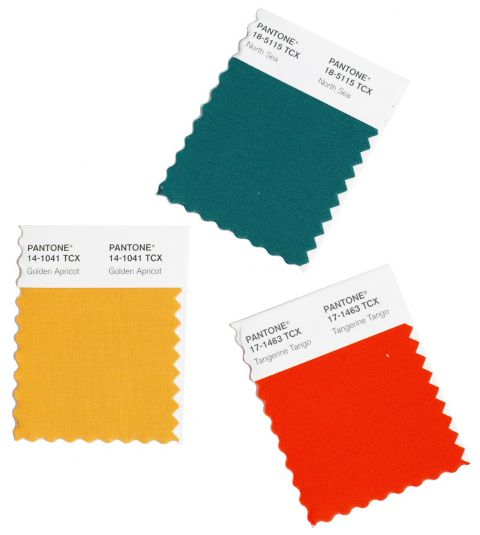Pantone Skårne Mini Card 2 stk 5x5cm TCX