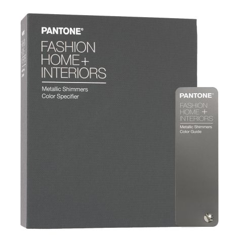 Pantone Metallic Shimmers Color set Specifier + Guide TPM
