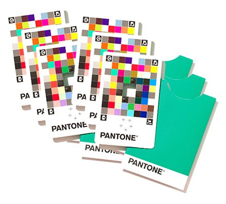 Pantone Color Match Card pakke med 25 stk
