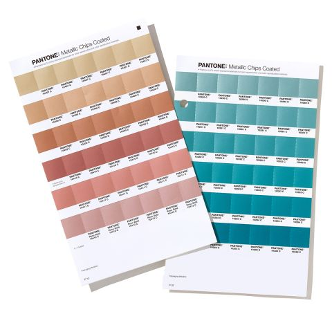 Pantone Metallic Replacement Pages