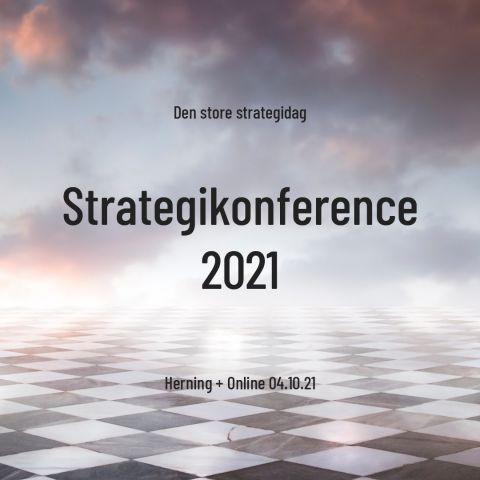 Strategikonference 2021 - Ny dato!