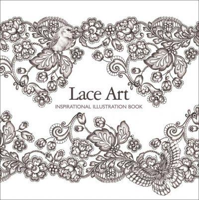 Lace art - Inspirational Illustration Book