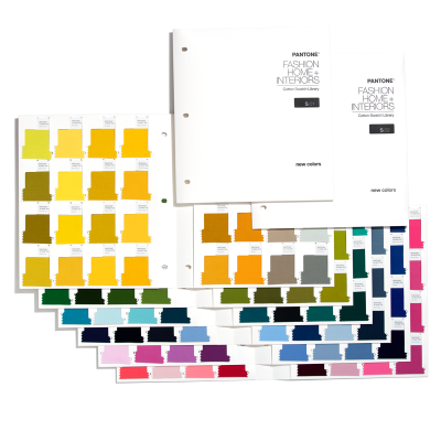 Pantone Cotton Swatch Library Supplement TCX - 315 FHI-farver