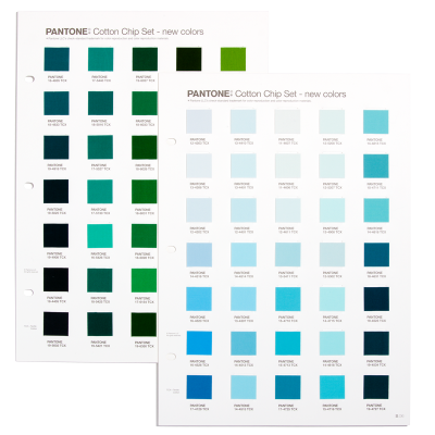 Pantone Cotton Chip Set Supplement TCX - 315 FHI-farver