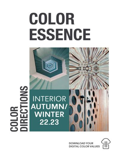 Color Essence Interior - Color Directions AW 22/23