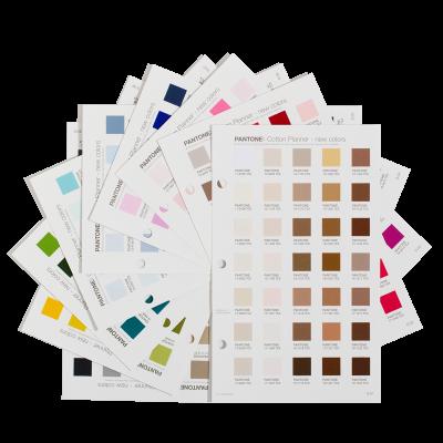 Pantone Cotton Planner Supplement TCX - 315 FHI-farver